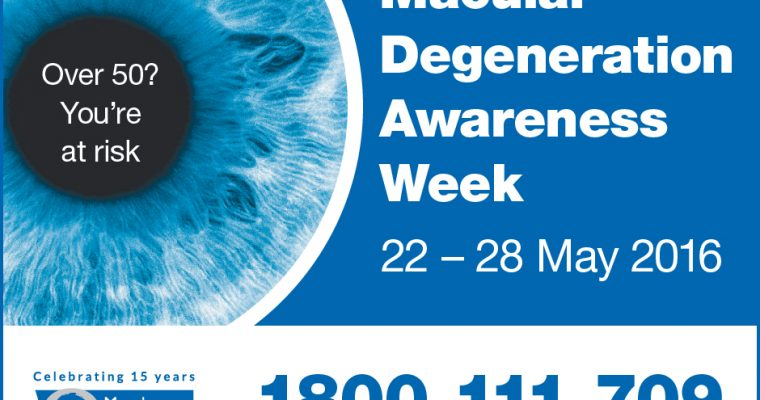 Macular Degeneration Awareness Week