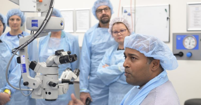 Interactive Optometry CPD event for 2017 at Chatswood Private Hospital